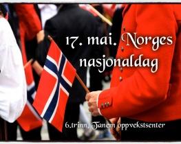 17. mai. Norges nasjonaldag