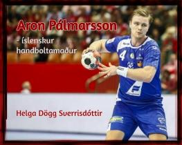 Aron Pálmarsson- íslenskur handboltamaður