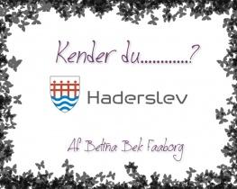 Kender du Haderslev?