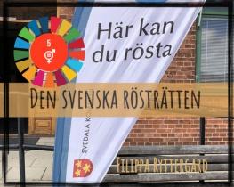 Den svenska rösträtten