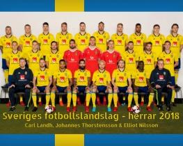 Sveriges fotbollslandslag - herrar 2018