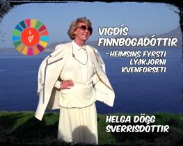 Vigdís Finnbogadóttir- heimsins fyrsti lýðkjörni kvenforseti